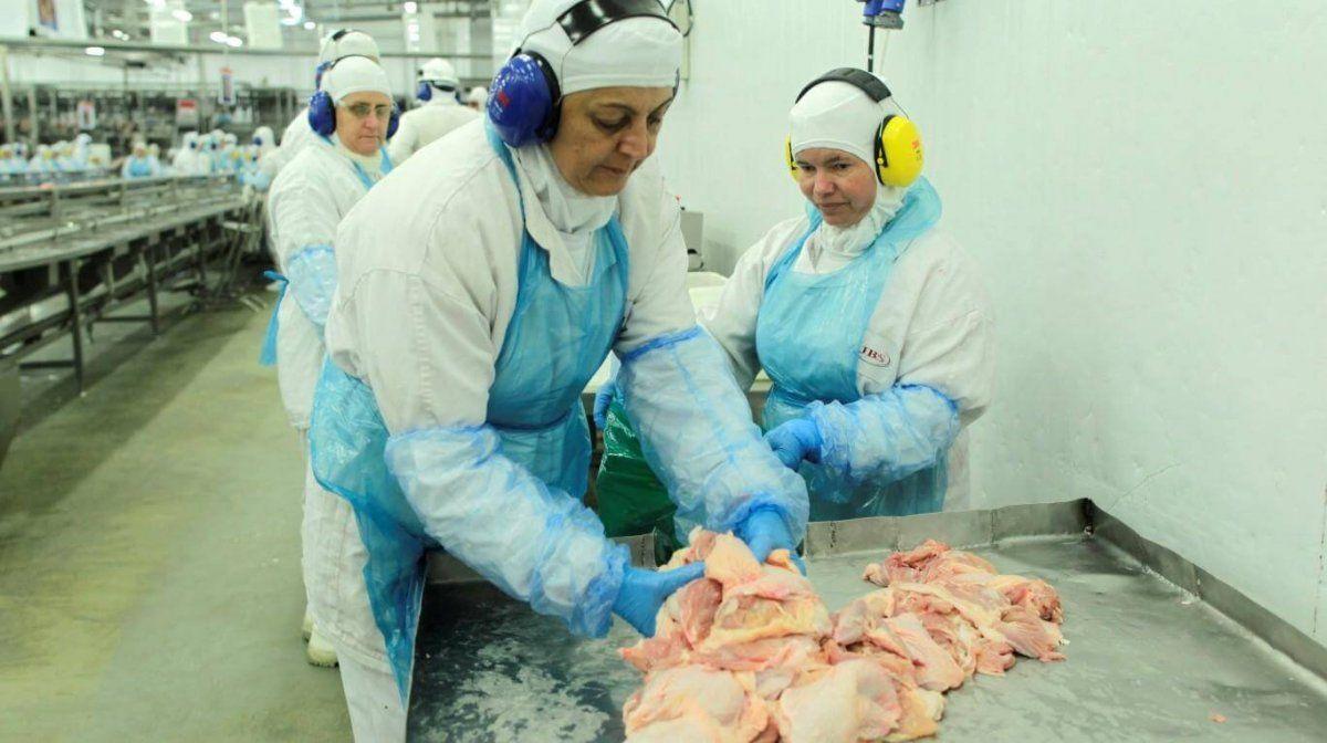 China encontró coronavirus en pollos importados de Brasil