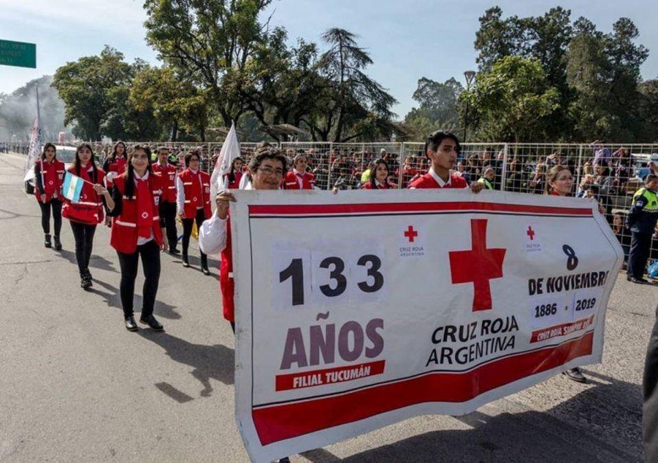 La Cruz Roja Filial Tucumán cumple 133 años de vida
