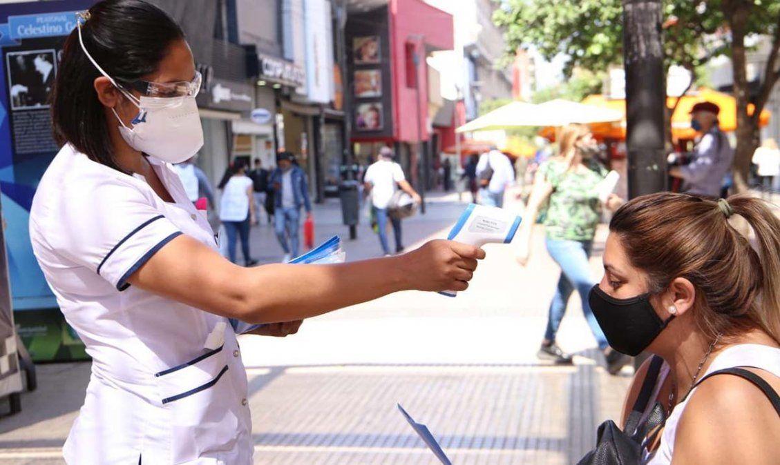 Crecen los contagios en la provincia de Tucumán. Foto MSPT