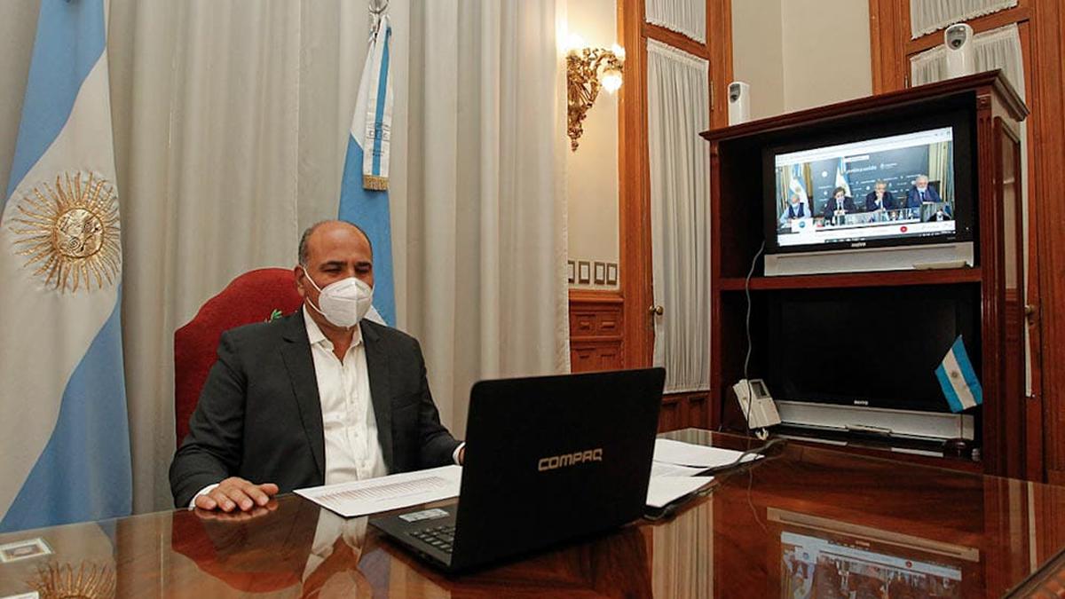 Manzur habló con el presidente de la situación sanitaria de la provincia