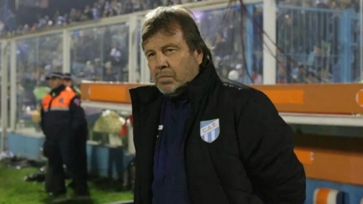 Ricardo Zielinski piensa que el empate era lo más justo para el partido frente a Independiente.