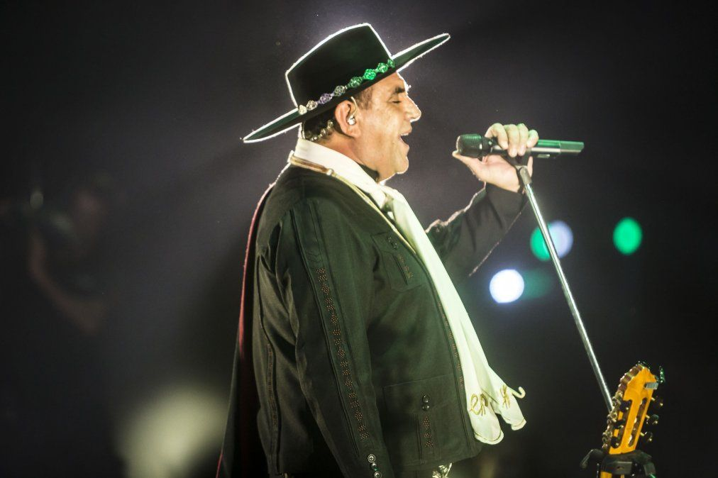 El Chaqueño Palavecino estrenó su nuevo disco por streaming