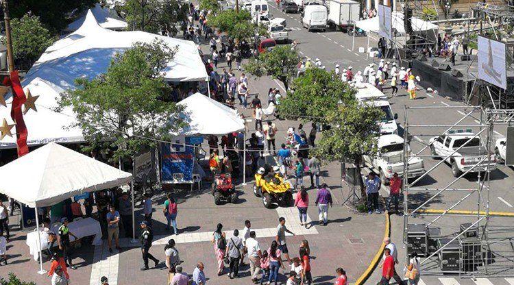 Llega la Expo Salud a plaza Independencia