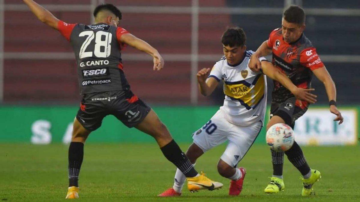 Boca cayó en Paraná ante Patronato por 1 a 0