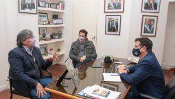 Empleo genuino. El ministro de Desarrollo Social, Gabriel Yedlin, mantuvo un encuentro de trabajo este lunes con el director regional del NOA del Ministerio de Trabajo de la Nación, Marcelo Santillán.