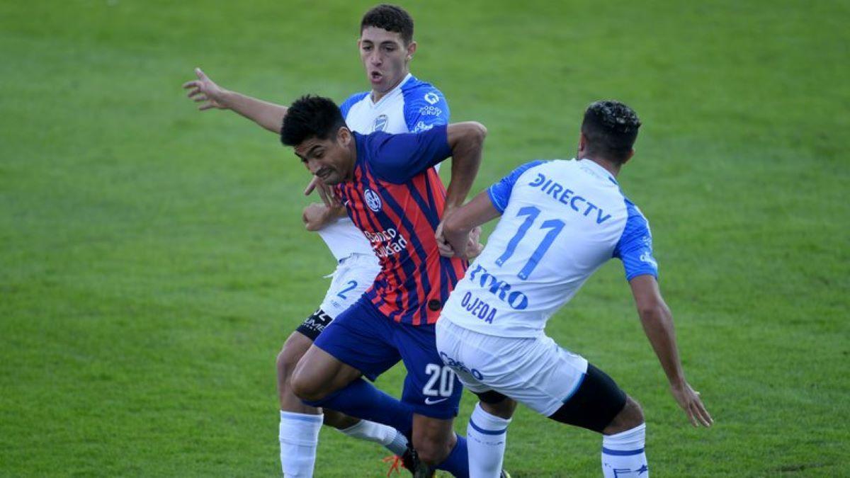 San Lorenzo le ganó al Tomba en un partido sufrido. (Créditos: Baires.com)
