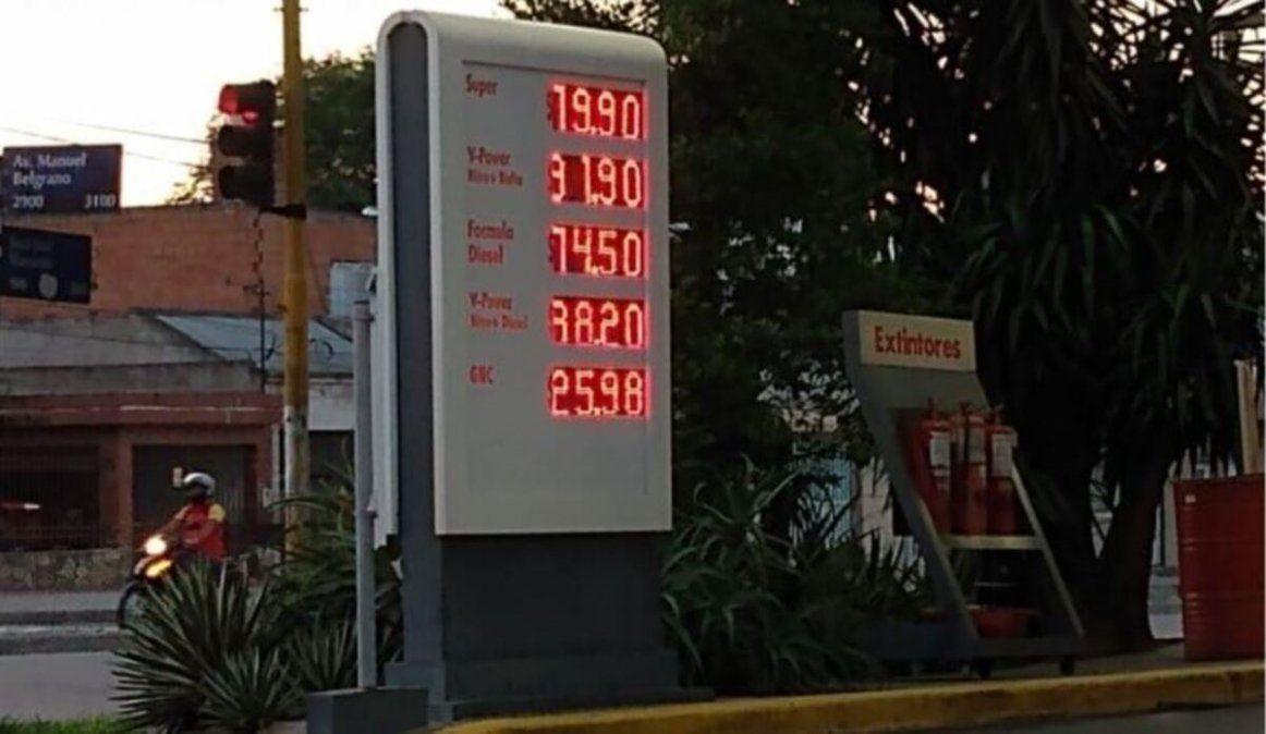 Nueva suba en algunas estaciones de servicio de Tucumán
