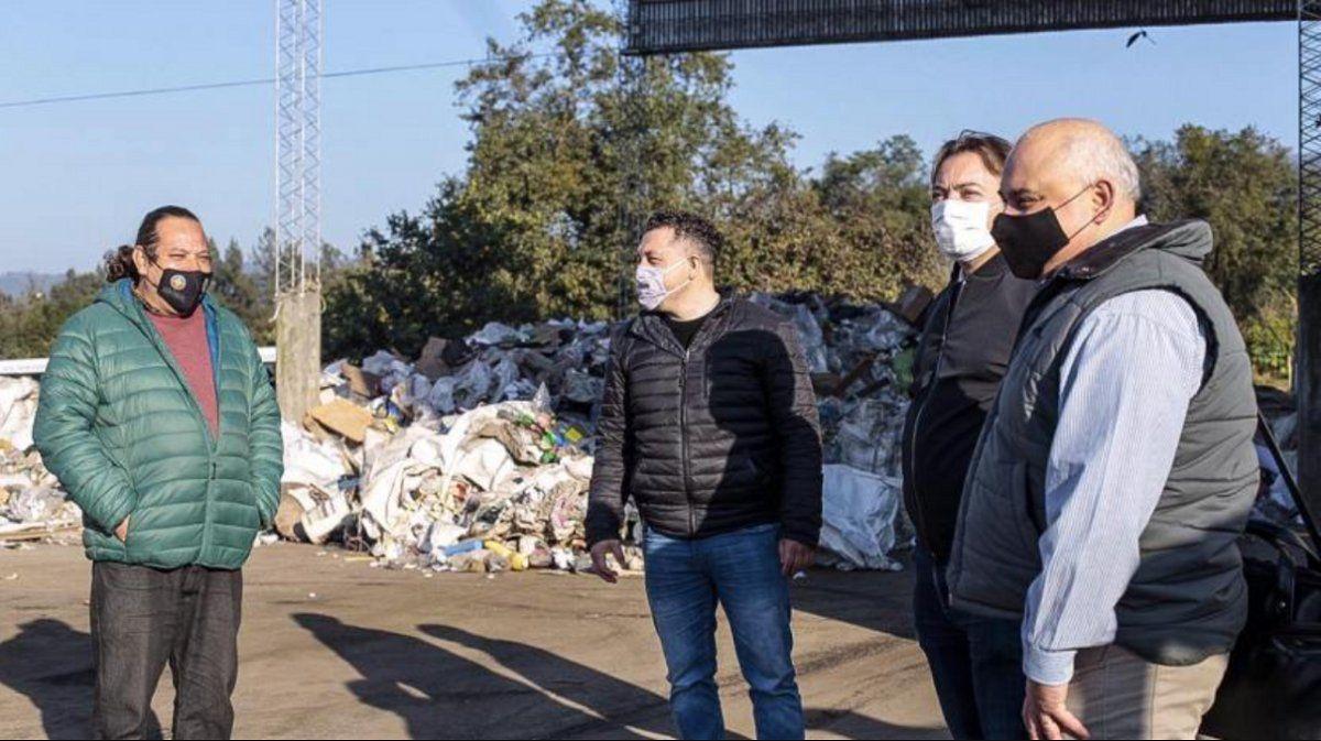Tafí Viejo y el reciclaje: visita y reconocimiento nacional