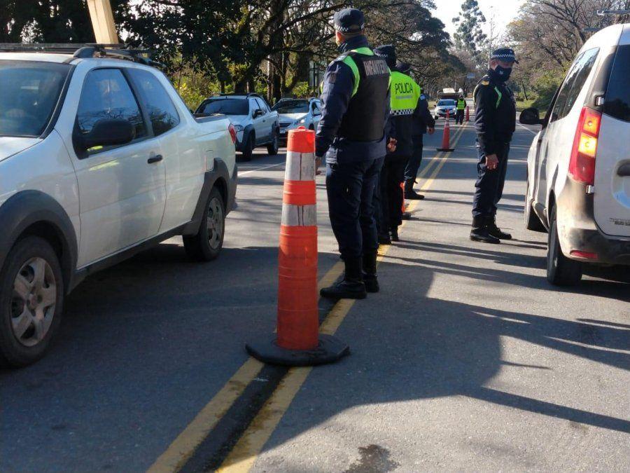 Controles: retuvieron más de 70 vehículos por infracciones