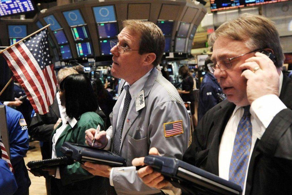 En Wall Street, las acciones argentinas cayeron hasta un 7%