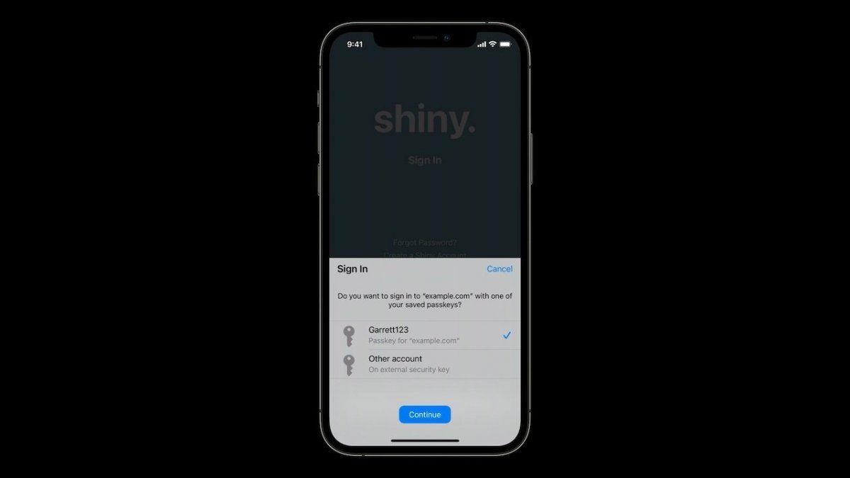 Apple planea decirle adiós a las claves con una nueva función