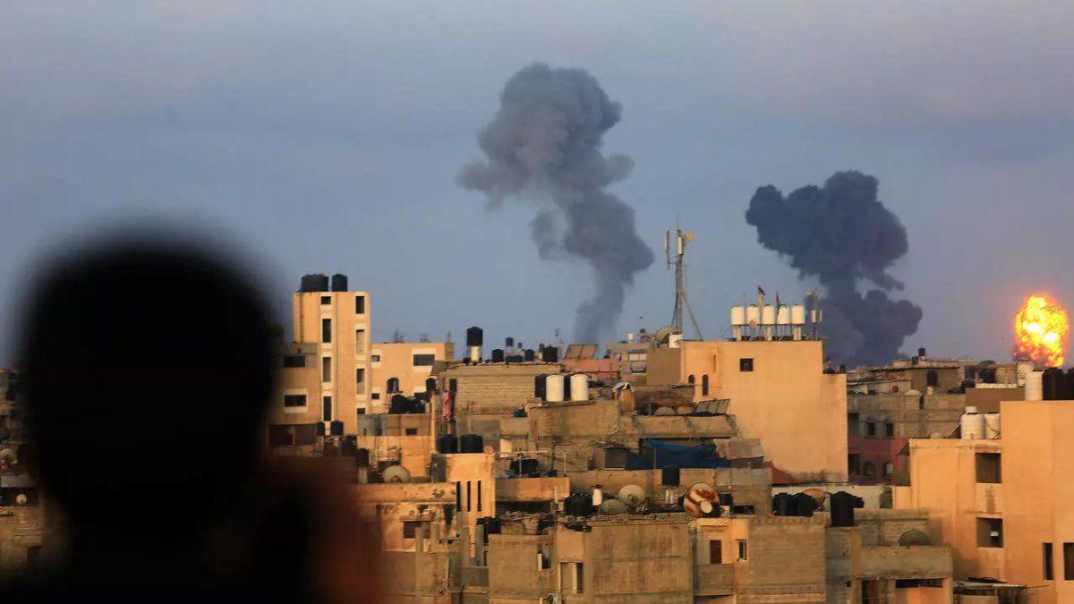 Palestina confirmó 192 víctimas por los bombardeos