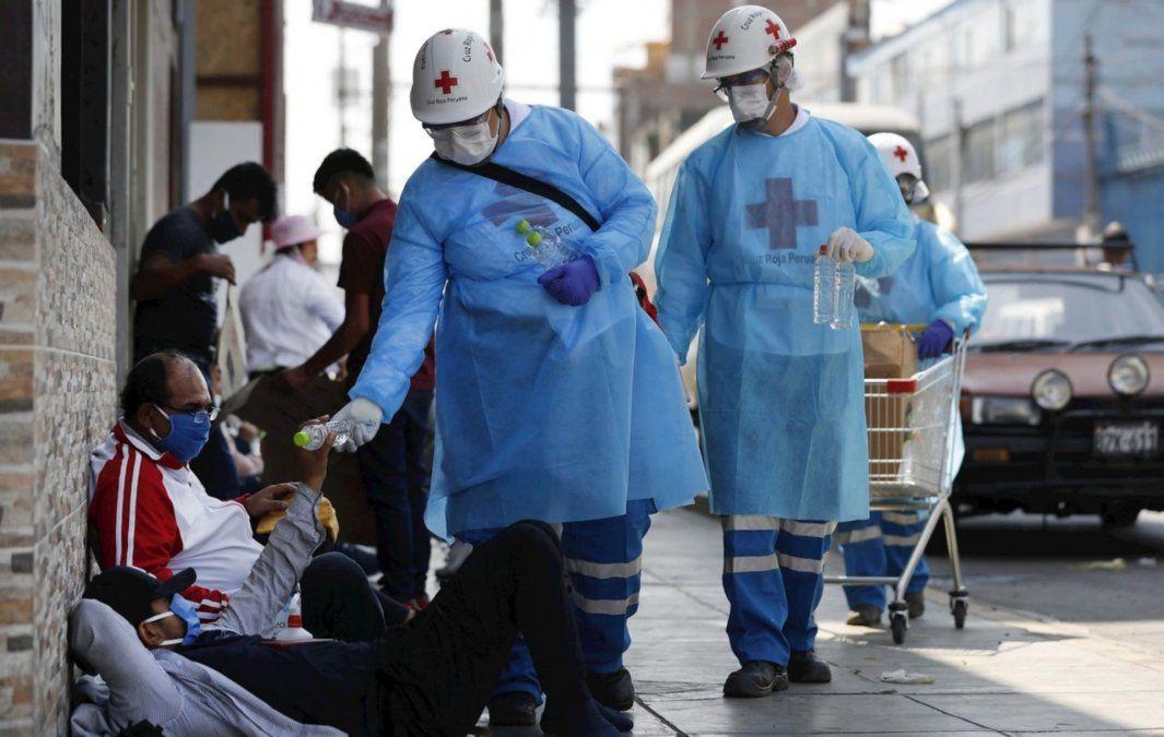 Perú supera el medio millón casos coronavirus
