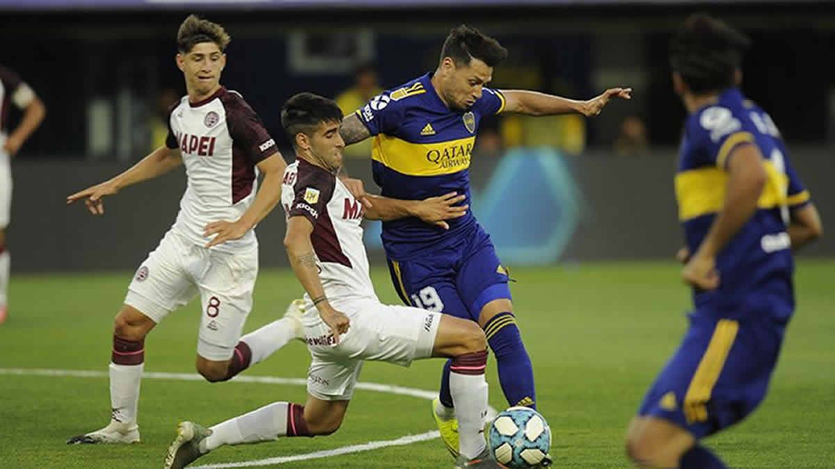 Boca perdió 2 a 1 ante Lanús por la Copa de la Liga Profesional