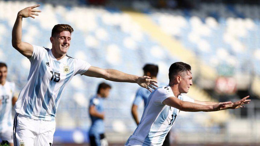 La Selección Sub 20 venció 2-1 a Uruguay y se clasificó al Mundial de Polonia