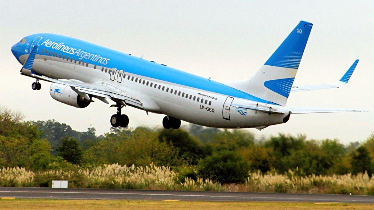 Aerolíneas Argentinas reactiva sus vuelos de cabotaje