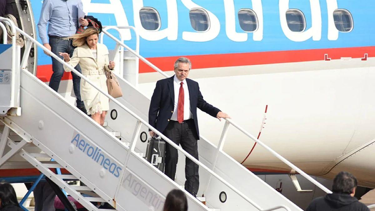 Alberto Fernández viaja a Israel en su primer viaje como Presidente