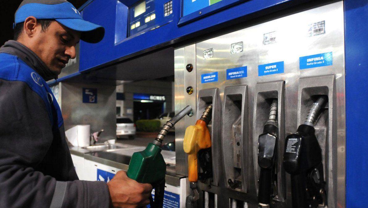 Estaciones de servicio: caída en las ventas del 90%