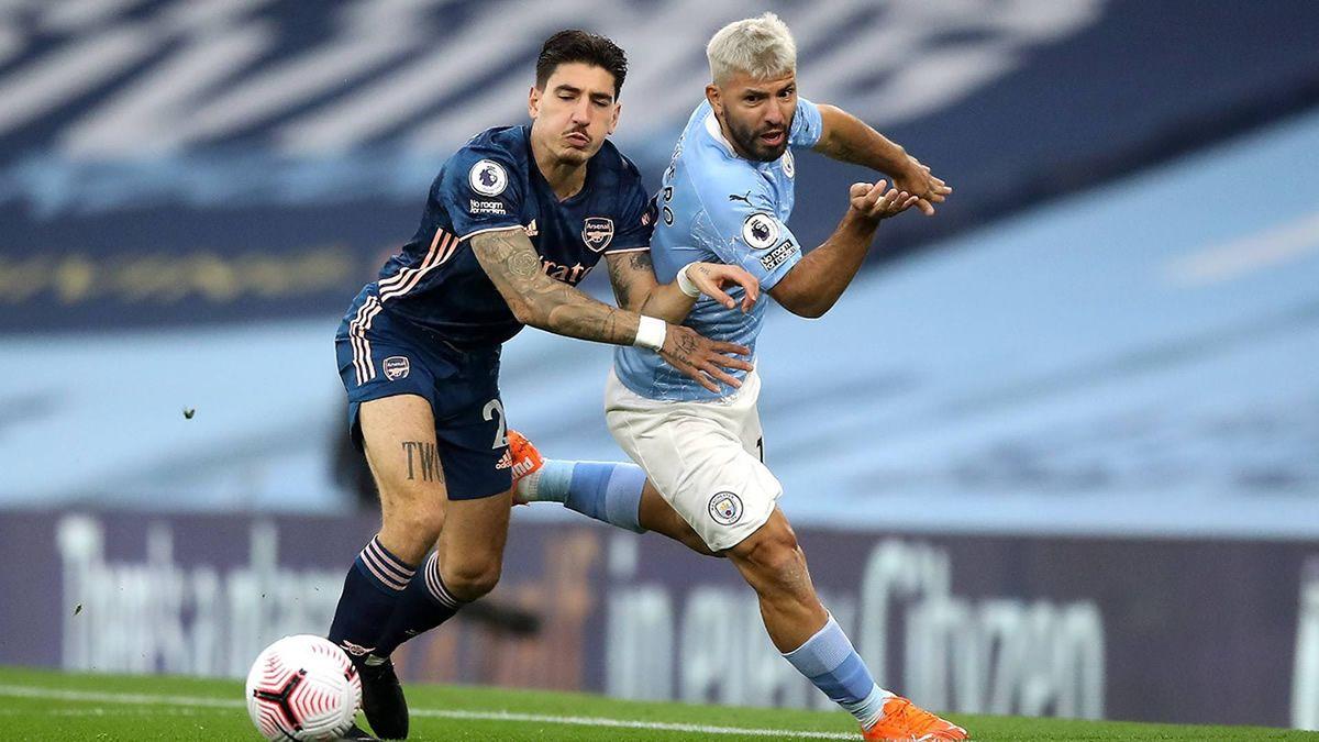 El Kun Agüero colaboró en el triunfo del Manchester City