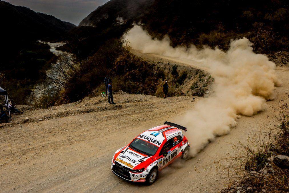 Rally Argentino: se completó el primer día en Trancas