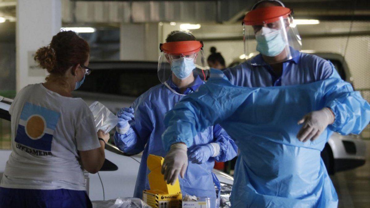 Coronavirus en Argentina: los casos se elevaron a 7.663