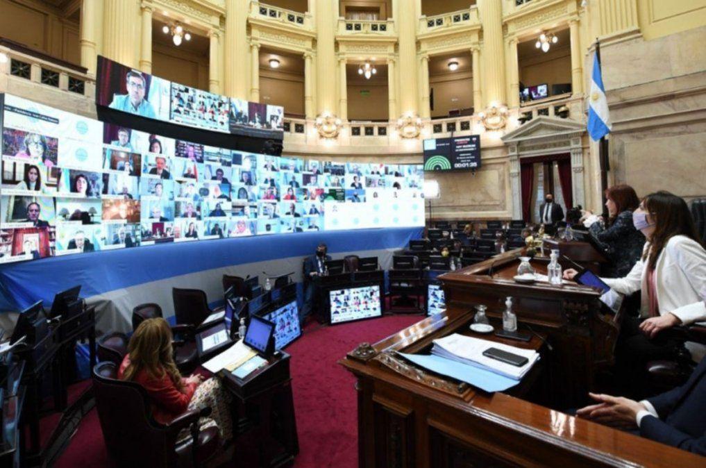 El Senado aprobó 28 pliegos de jueces