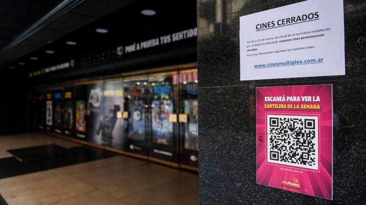 El protocolo para la reapertura de los cines fue aprobado