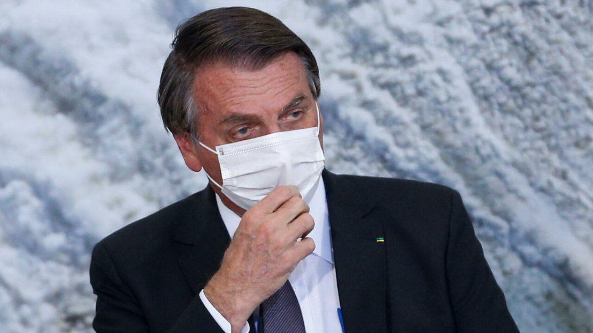 Bolsonaro tiene hipo desde hace más de 10 días.