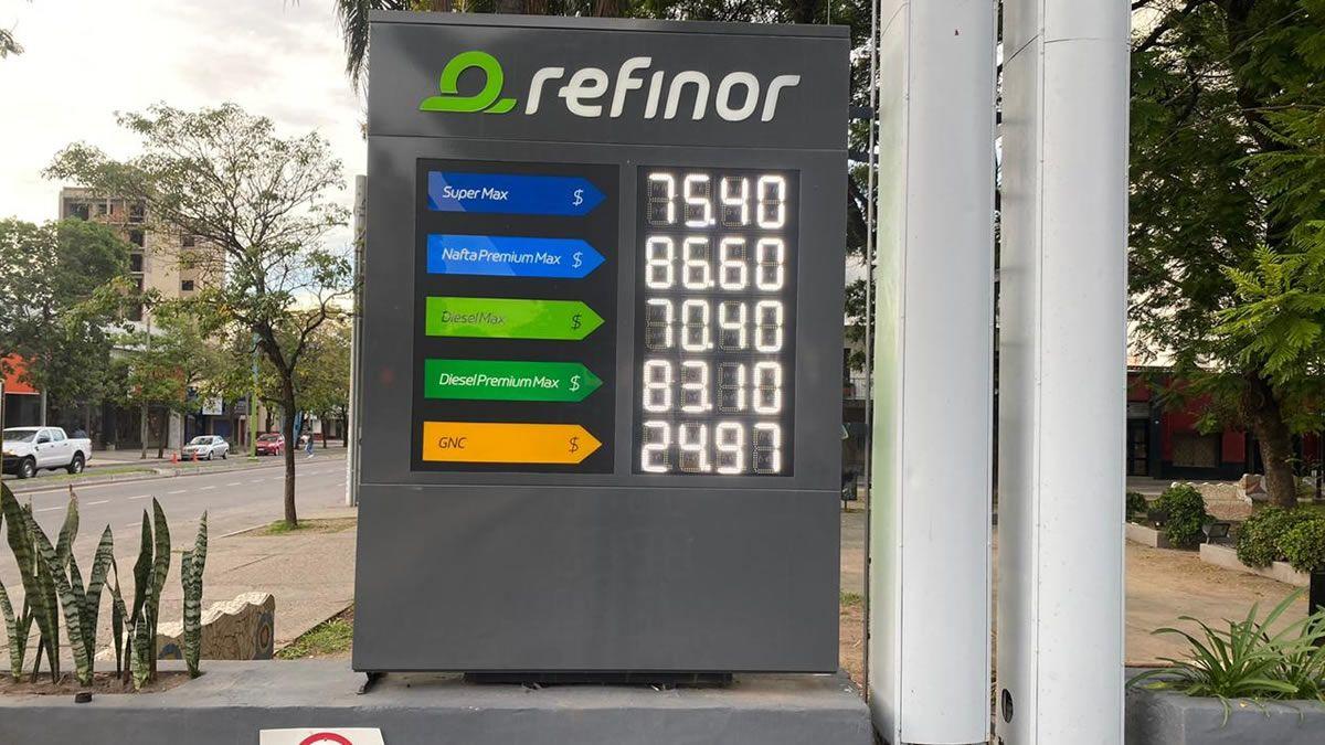 Nueva suba de las naftas en algunas estaciones de servicio en Tucumán