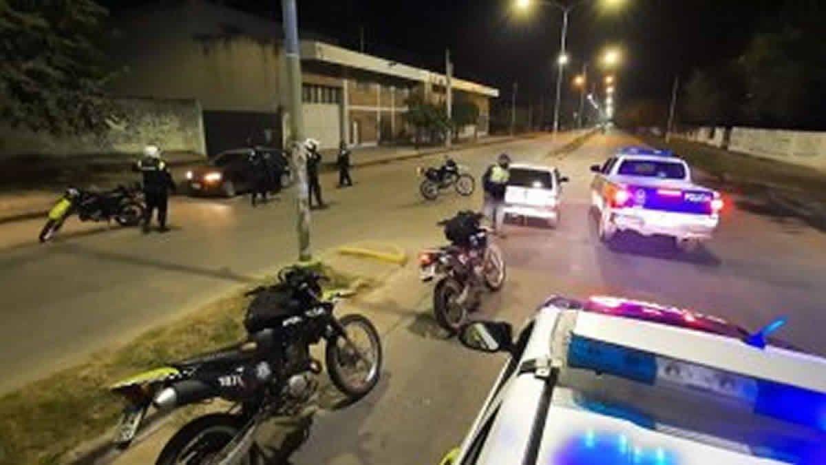 En una semana, la Policía aprehendió a 12 personas y secuestró armas