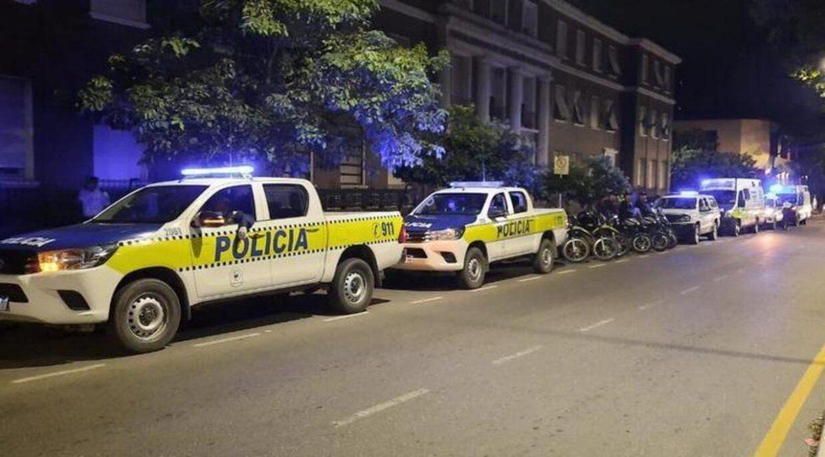 La Policía resaltó que disminuyó la circulación el fin de semana