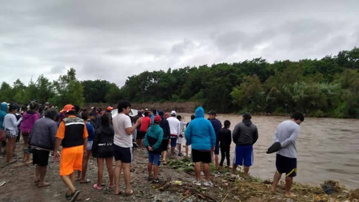 Río Salí: sigue la búsqueda del menor desaparecido