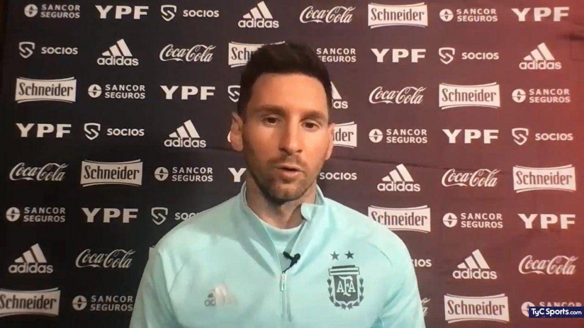 Messi habló antes del debut de la Selección Argentina en la Copa América 2021.