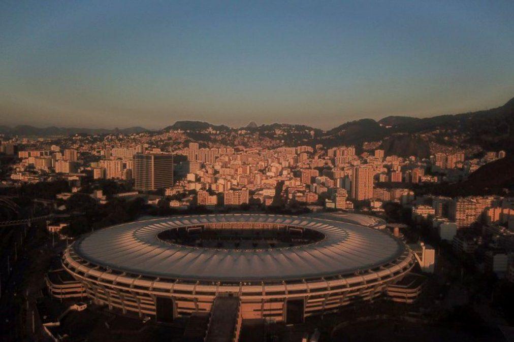 El mítico Maracaná. Sede de la Copa América.