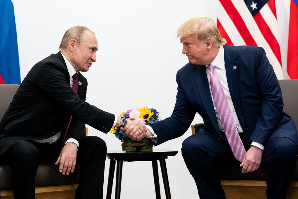 Putin agradeció a Trump por ayudar a evitar atentados terroristas