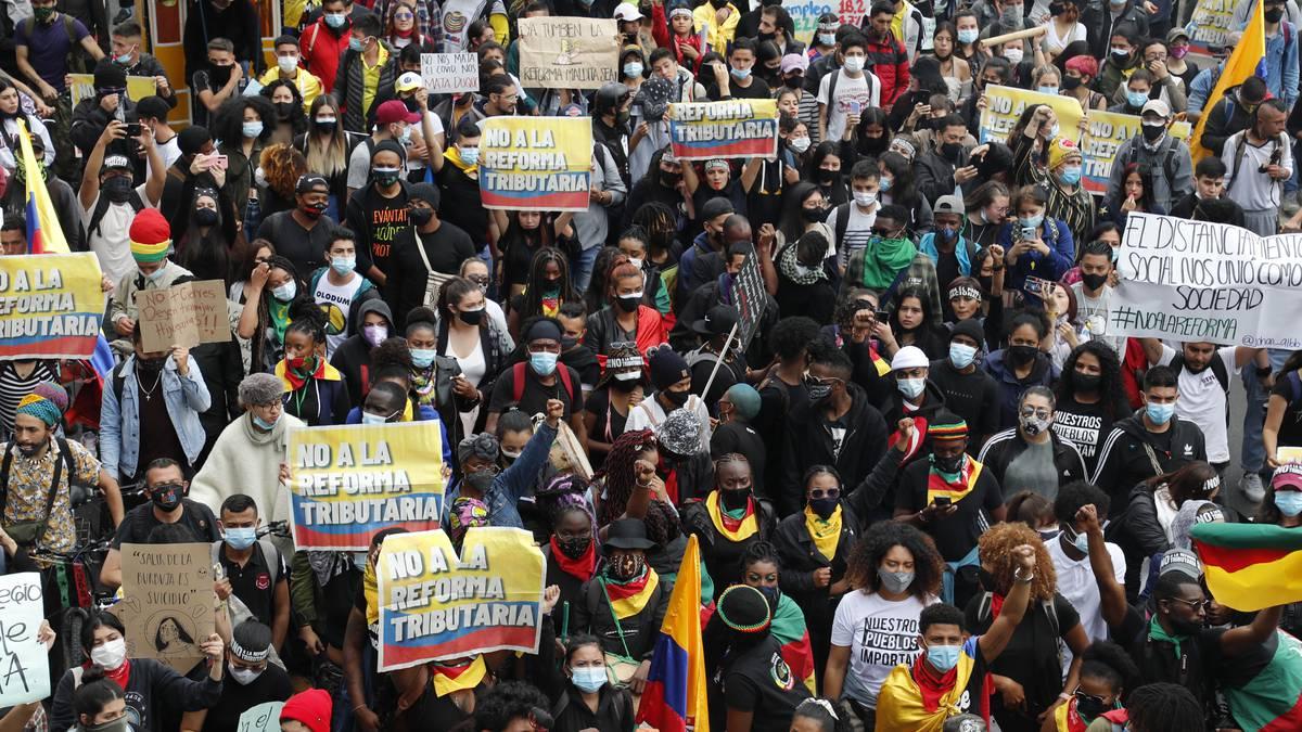 Colombia: siguen las marchas contra una reforma tributaria