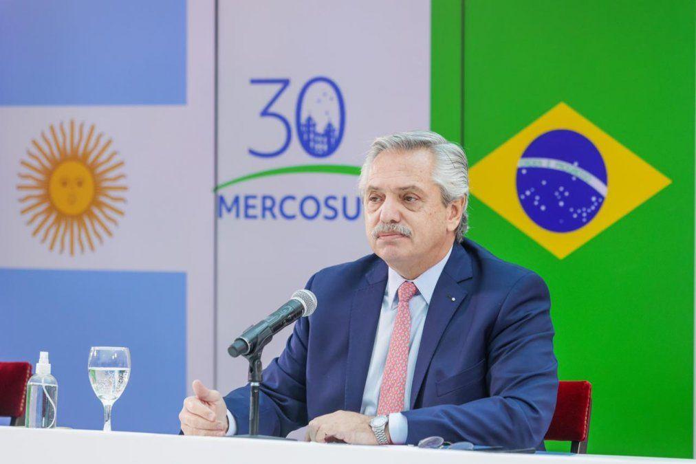 Cumbre del Mercosur: Fernández llamó al consenso y la integración regional