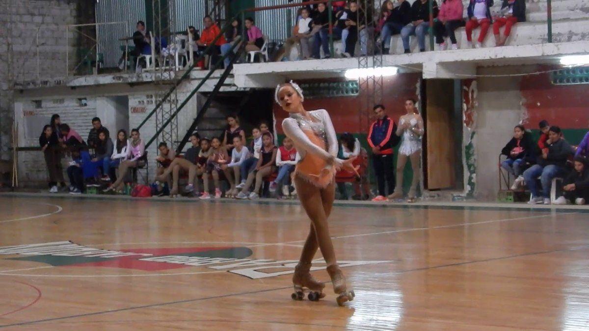 Sofía Hazeu participará de los Panamericanos representando a la Selección Argentina de Patinaje.