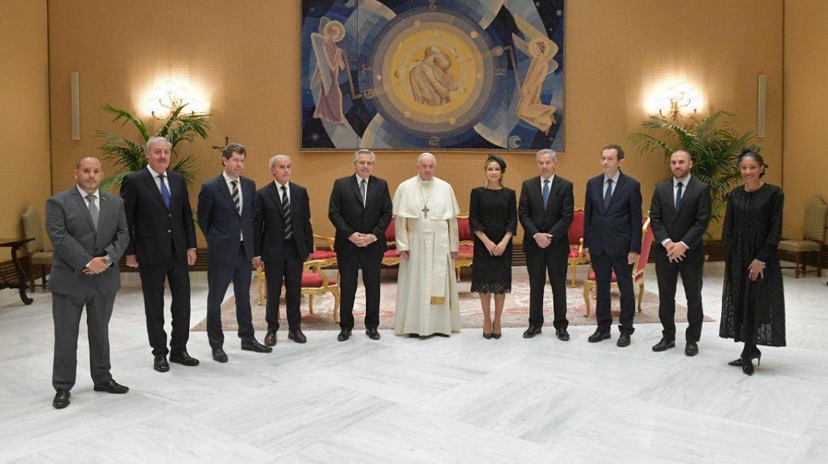 Alberto Fernández y el papa Francisco concretaron el encuentro