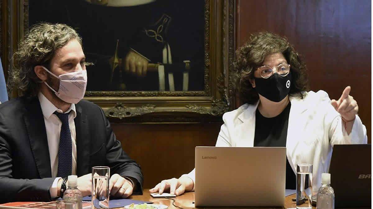 Cafiero y Vizzotti se reunen con científicos por la suba de casos