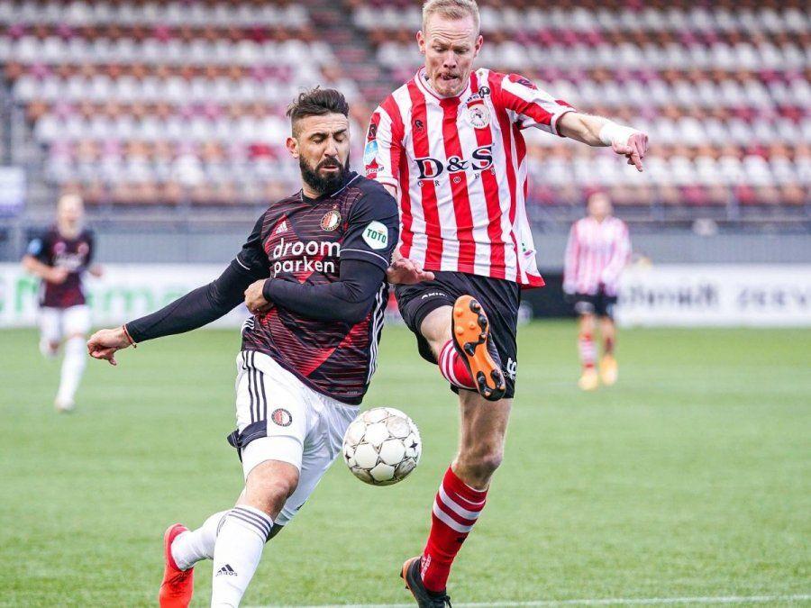 Lucas Pratto debutó con victoria en el Feyenoord