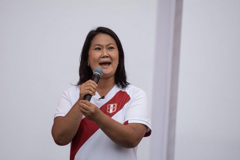 Ballotage en Perú: Keiko Fujimori pidió la nulidad de votos