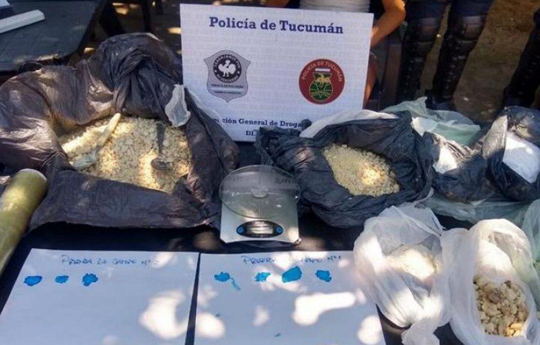 Banda del Río Salí: secuestran más de 6 kilos de cocaína