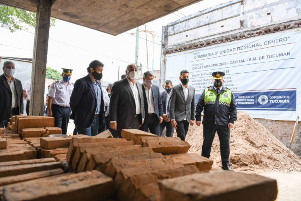 Con una inversión de $25 millones, construyen a nueva la Comisaría Tercera