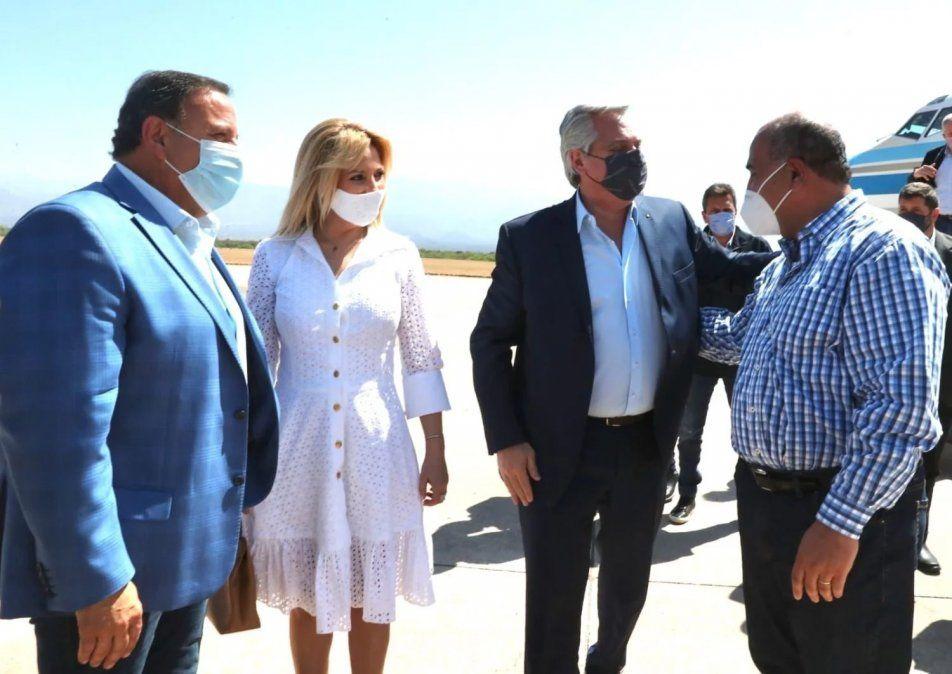 Este fin de semana el presidente Alberto Fernández se quedará en La Rioja. Foto: eldestapeweb.com