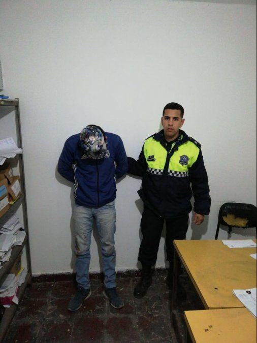 Dos hombres fueron aprehendidos por robos en domicilios