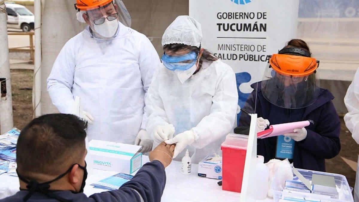 Covid-19 en Tucumán: se registraron 768 casos y 20 muertes
