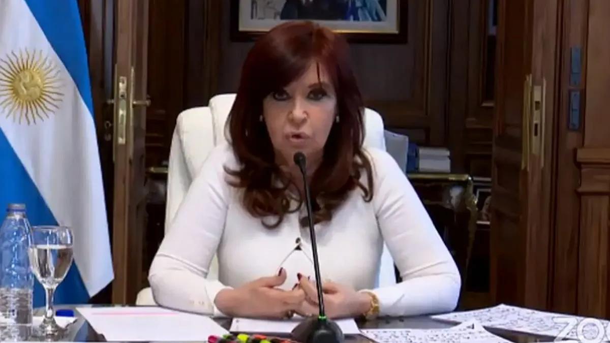 Cristina Kirchner calificó de disparate judicial la causa
