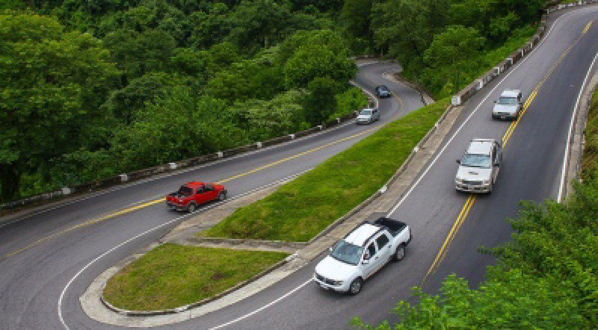 Ruta 307: habilitan la circulación con medio calzada en algunos tramos