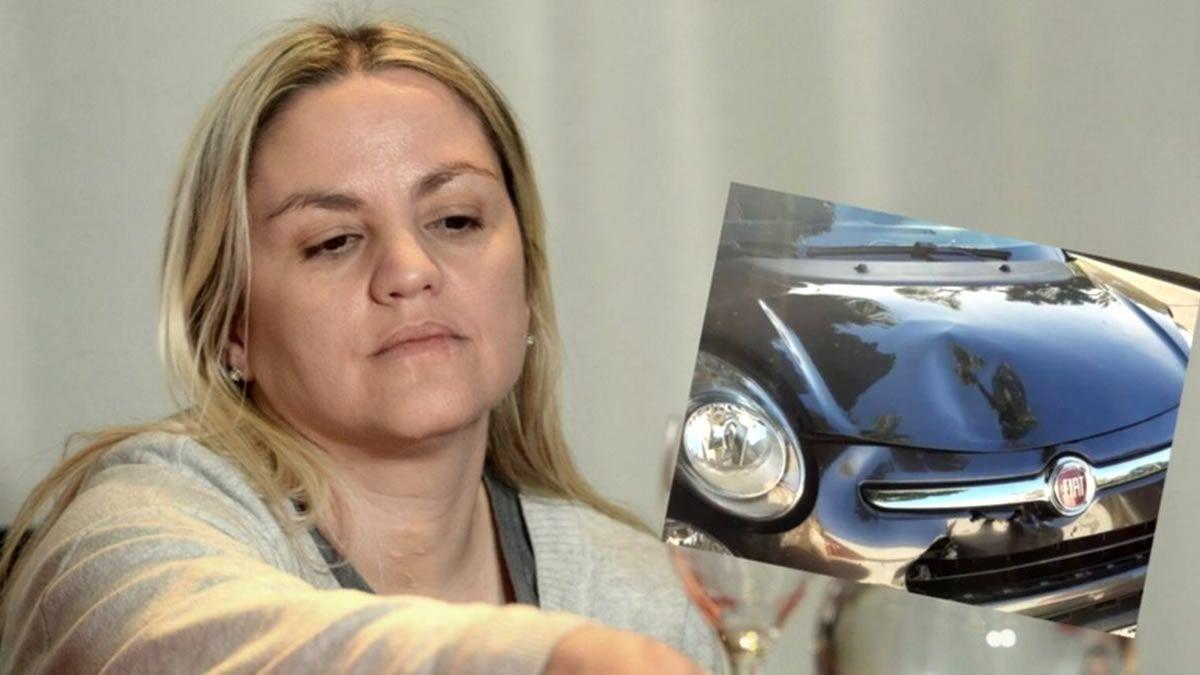 Carolina Píparo y su marido investigados por un accidente de tránsito